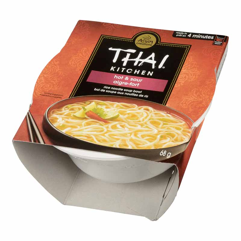 Thai Kitchen Rice Noodle Bowl - Hot & Sour Soup - 68g