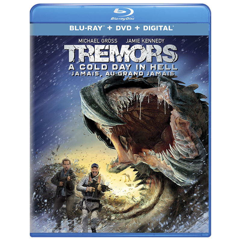Tremors: A Cold Day in Hell - Blu-ray