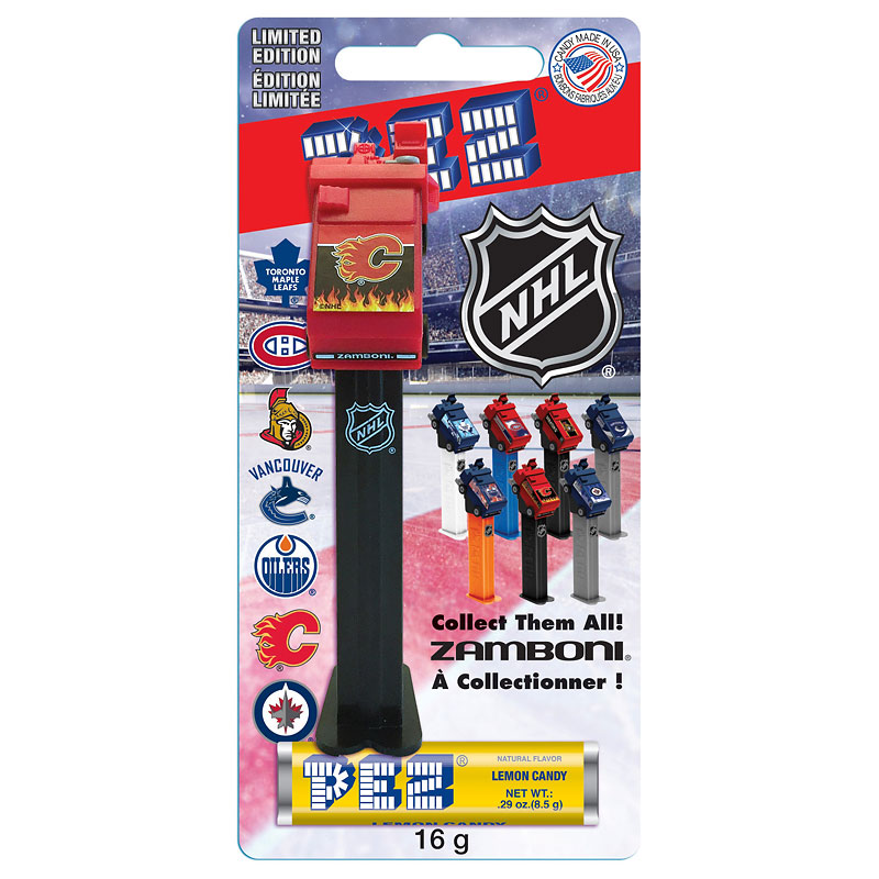 Pez NHL Zamboni - Assorted - 16.4g
