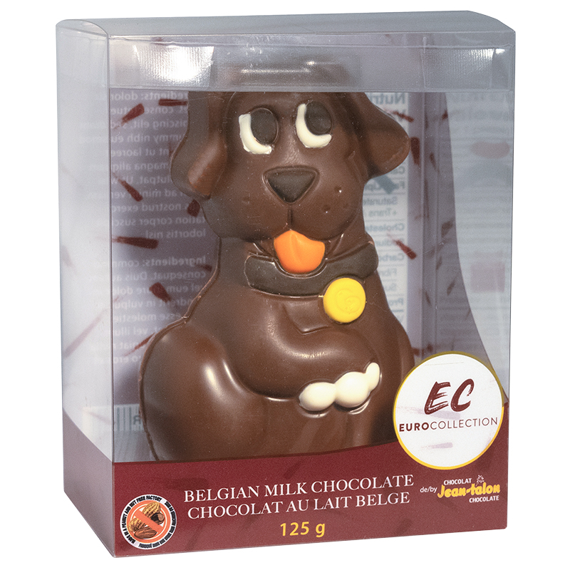 Euro Collection Hollow Chocolate - Dog - 125g