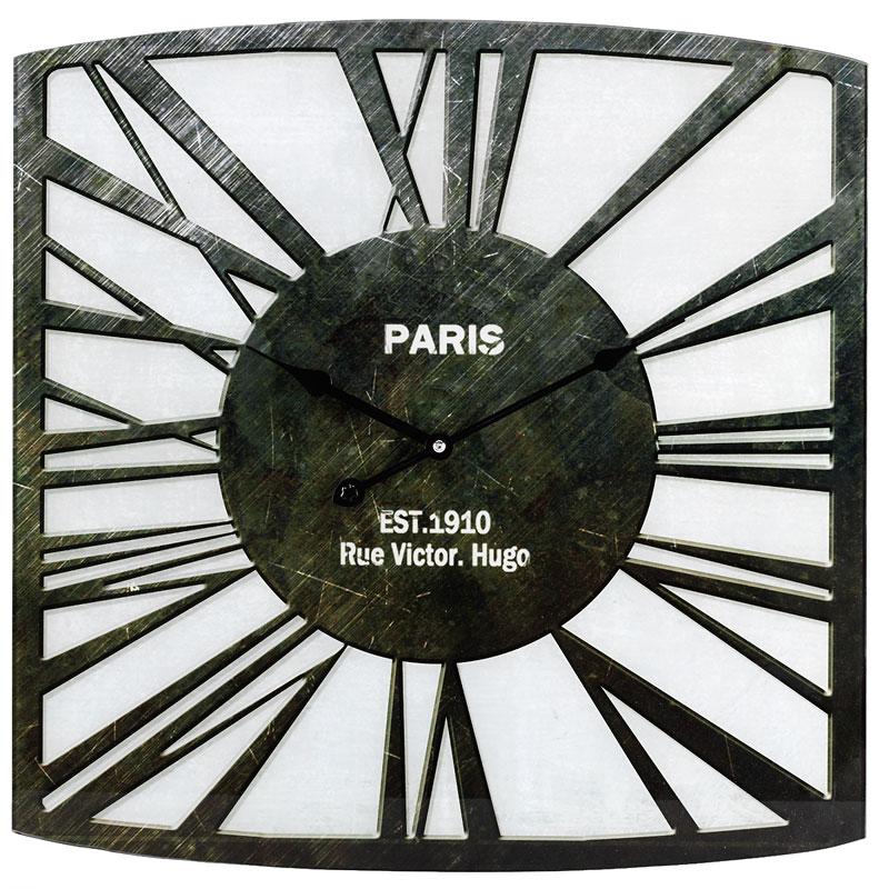 London Drugs Wall Clock - Rue Victor - 50 x 50cm