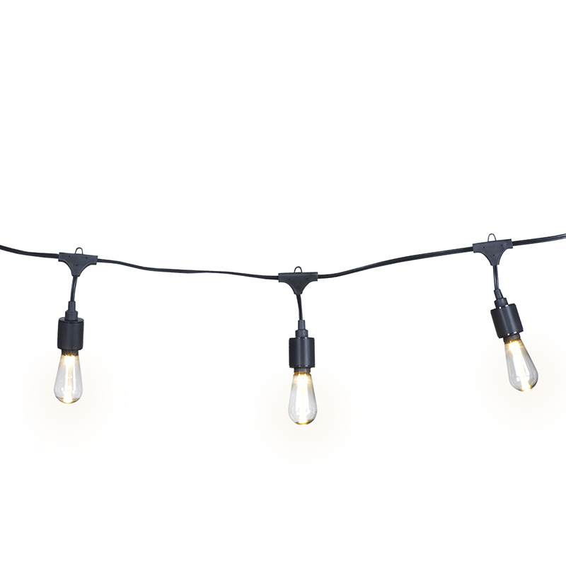 Apex LED Epoxy Patio String Lights - 10 lights