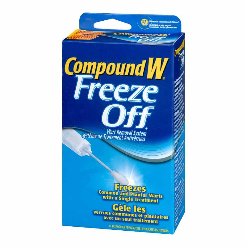 Compound W Freeze Off Wart Removal System - 12's