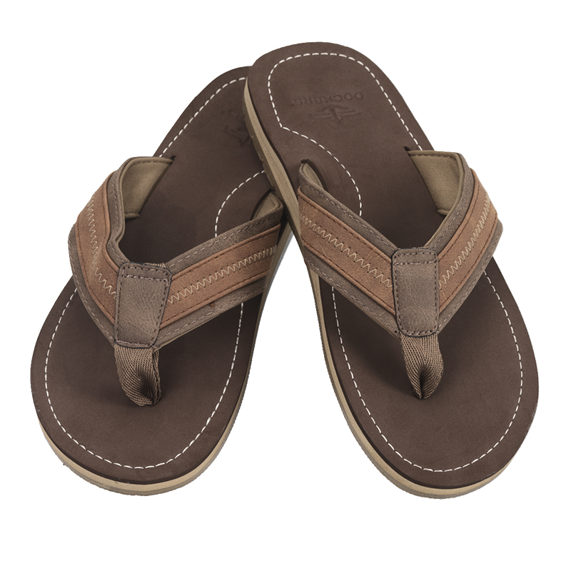 Docker's Eva Thong Flip Flop - Brown - 8-13