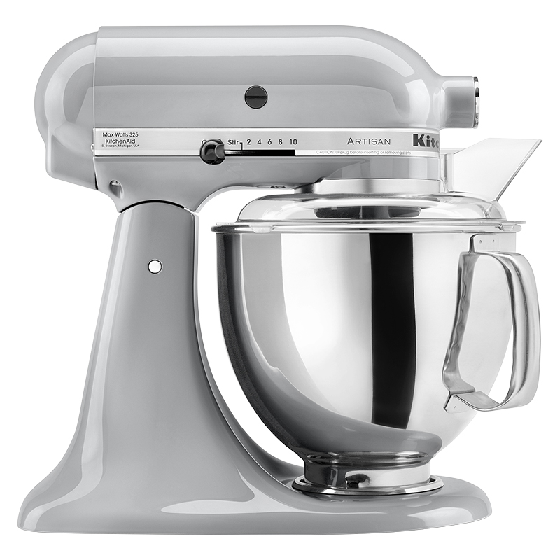 Kitchenaid Artisan Series 5 Quart Stand Mixer Metallic Chrome Ksm150psmc