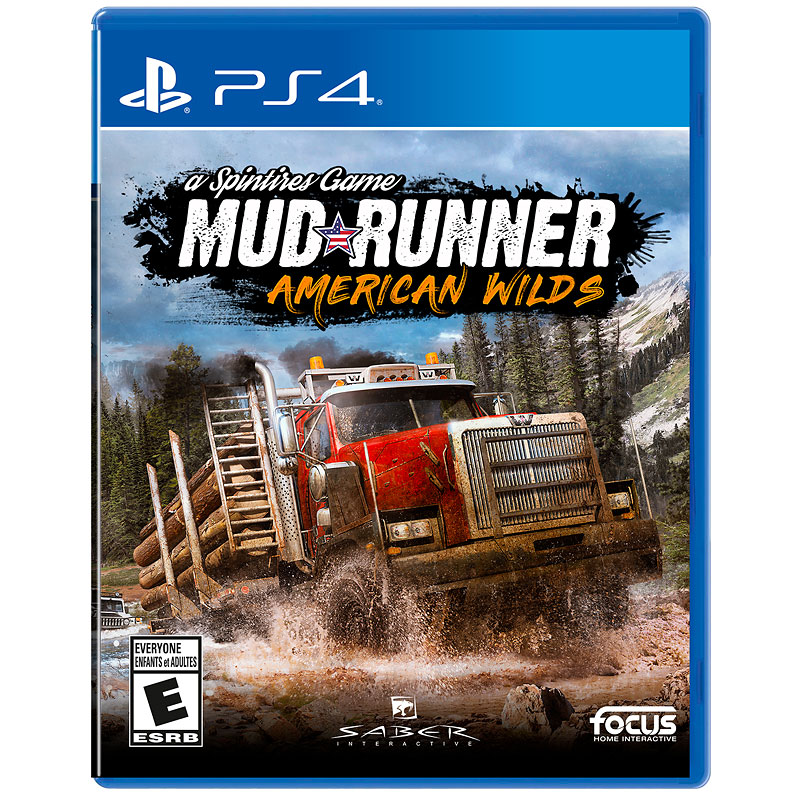 PS4 Spintires: Mud Runner - American Wilds