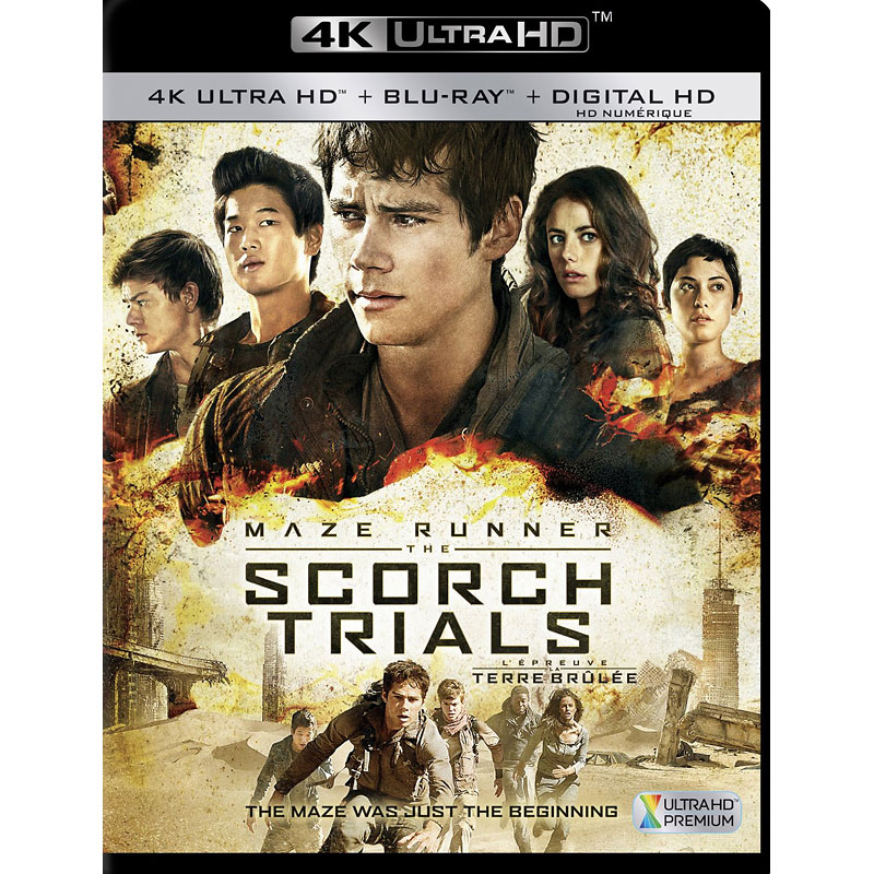 Maze Runner: The Scorch Trials - 4K UHD Blu-ray