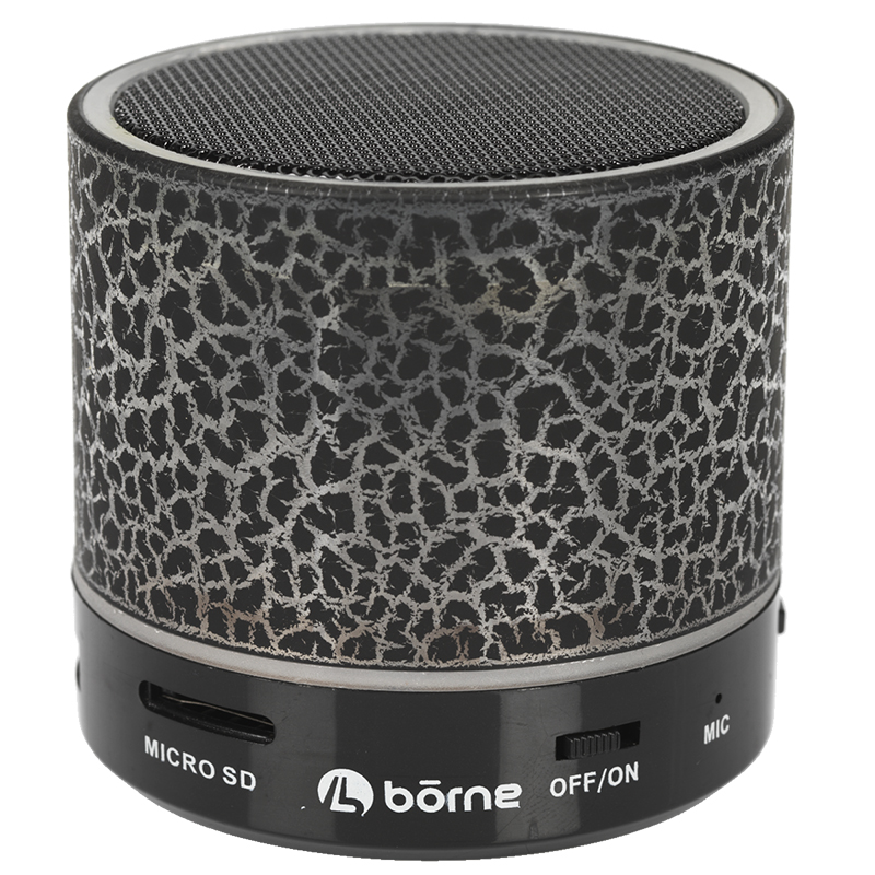 Borne Bluetooth Speaker - Black/Red - BTSPK21