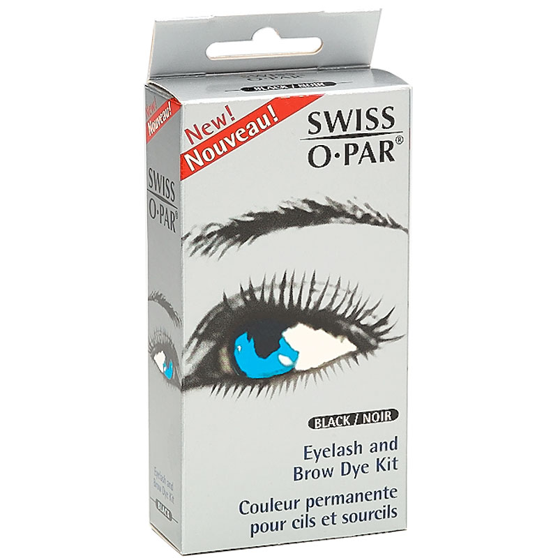 Swiss O Par Eyelash And Brow Dye Kit Black London Drugs