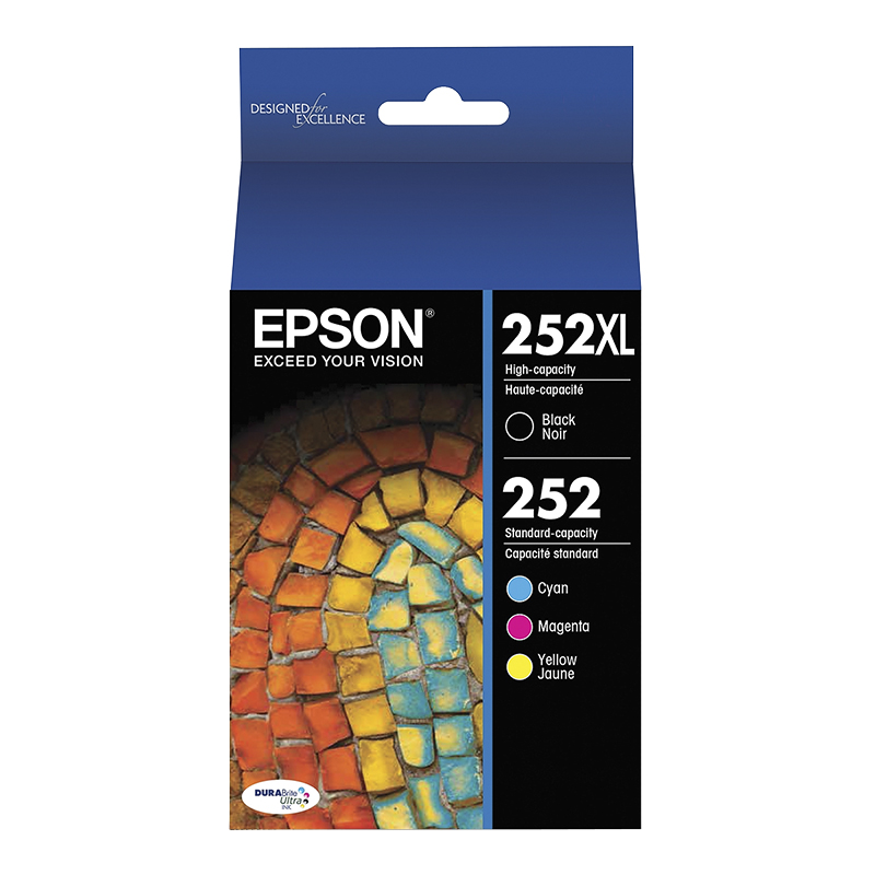Epson T252XL Ink Cartridge - Black/Colour - T252XL-BCS