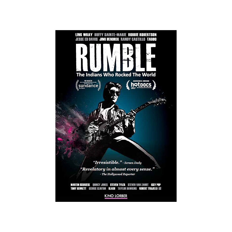 Rumble: The Indians Who Rocked The World - DVD