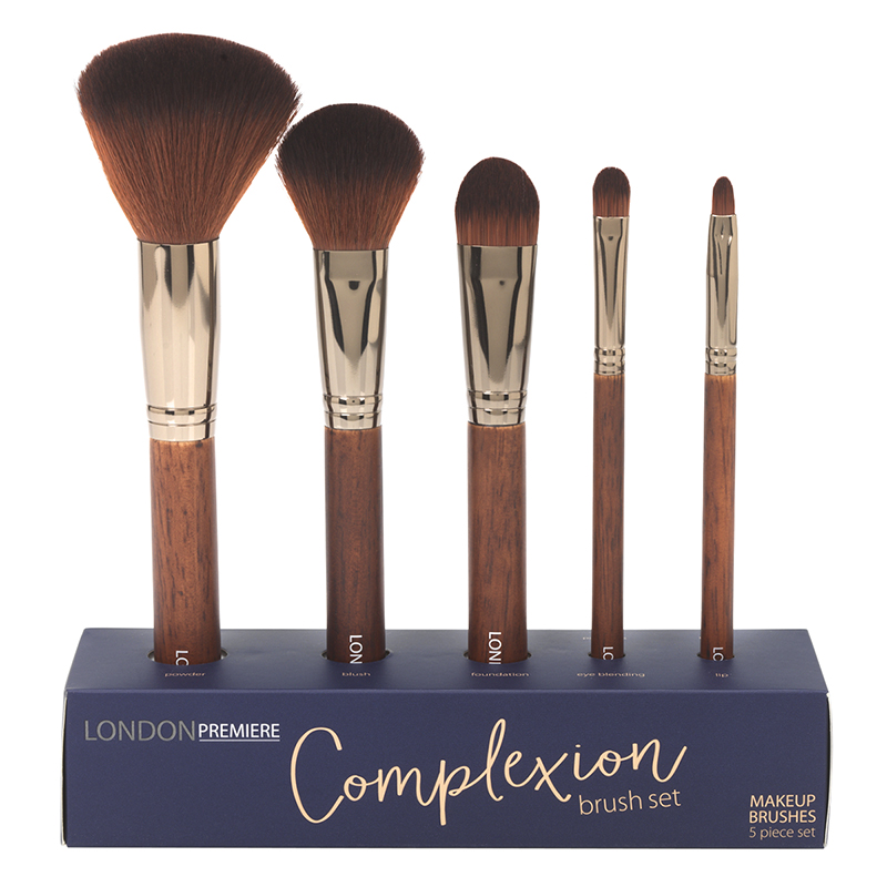 London Premiere Complexion Brush Set - 5 piece