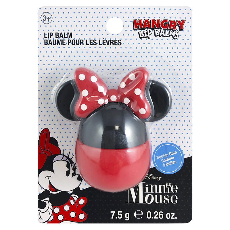 Hangry Lip Balm Minnie Mouse - Bubble Gum - 7.5g