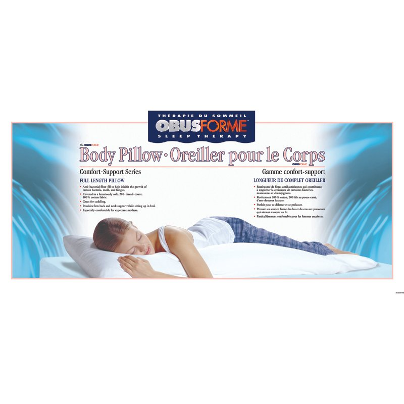 ObusForme Body Pillow - PL-BDY-01