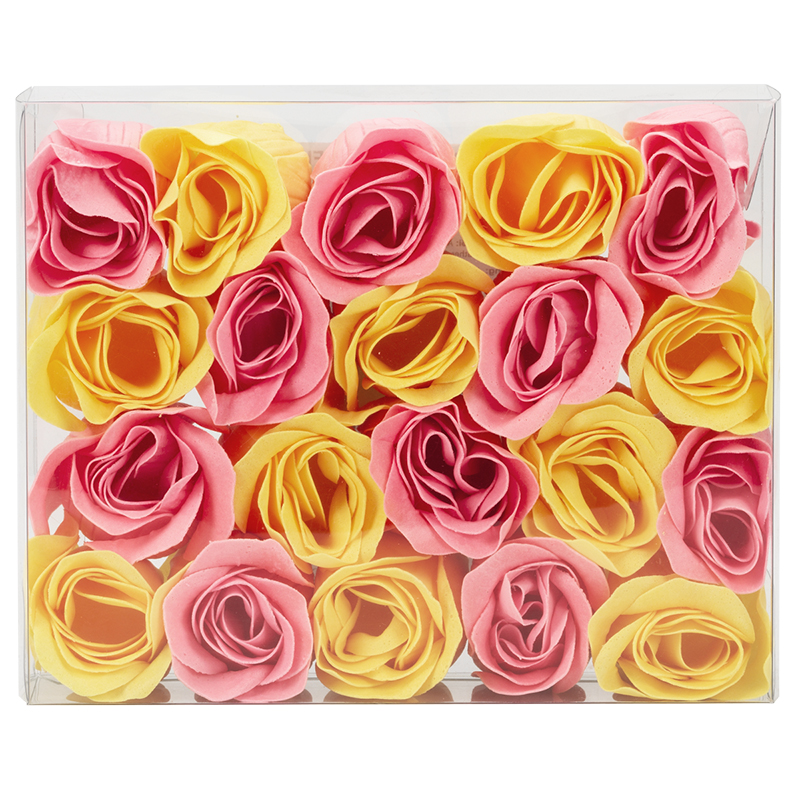 Beauty Bouquet Soap Flowers - 20 piece