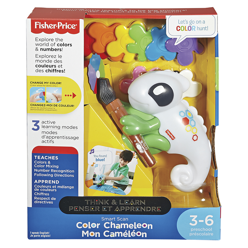 Fisher Price Think & Learn Smart Scan Colour Chameleon