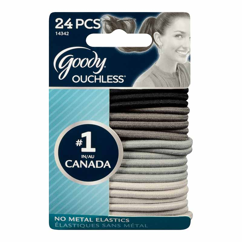 Goody Ouchless Stone Elastics - Extra Thick - 24's