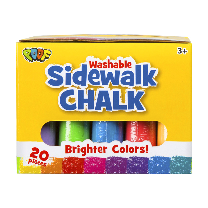 Chalk Set Brighter Colours - 20 piece