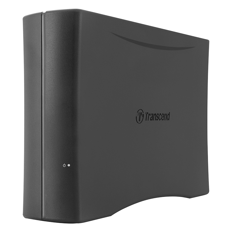 Transcend 4TB StoreJet Cloud 110 - External Desktop Hard Drive - Black - TS4TSJC110