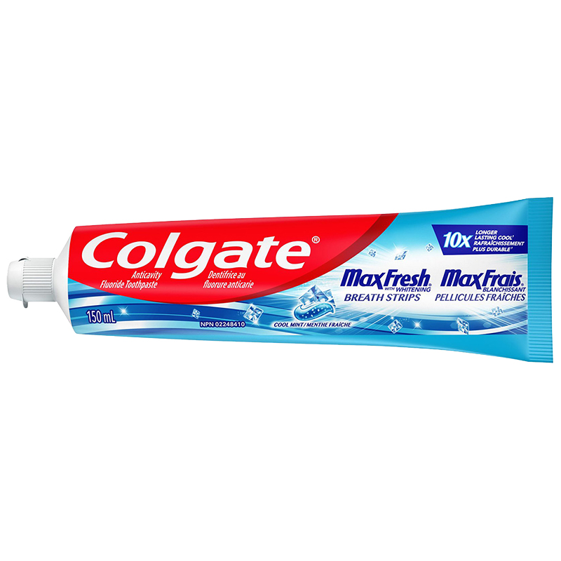 Colgate Max Fresh with Whitening Toothpaste - Cool Mint - 150ml