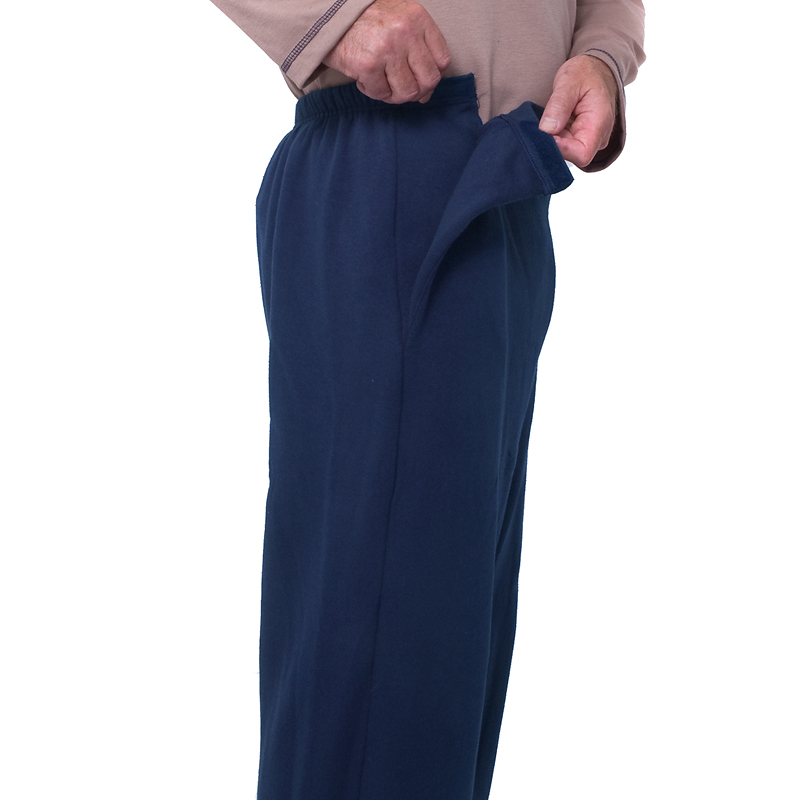 Silvert's Men's Open-Side Fleece Pants - Small - XL