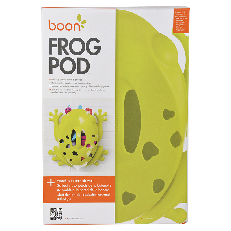 Boon Frog Pod Bath Toy Scoop | London Drugs