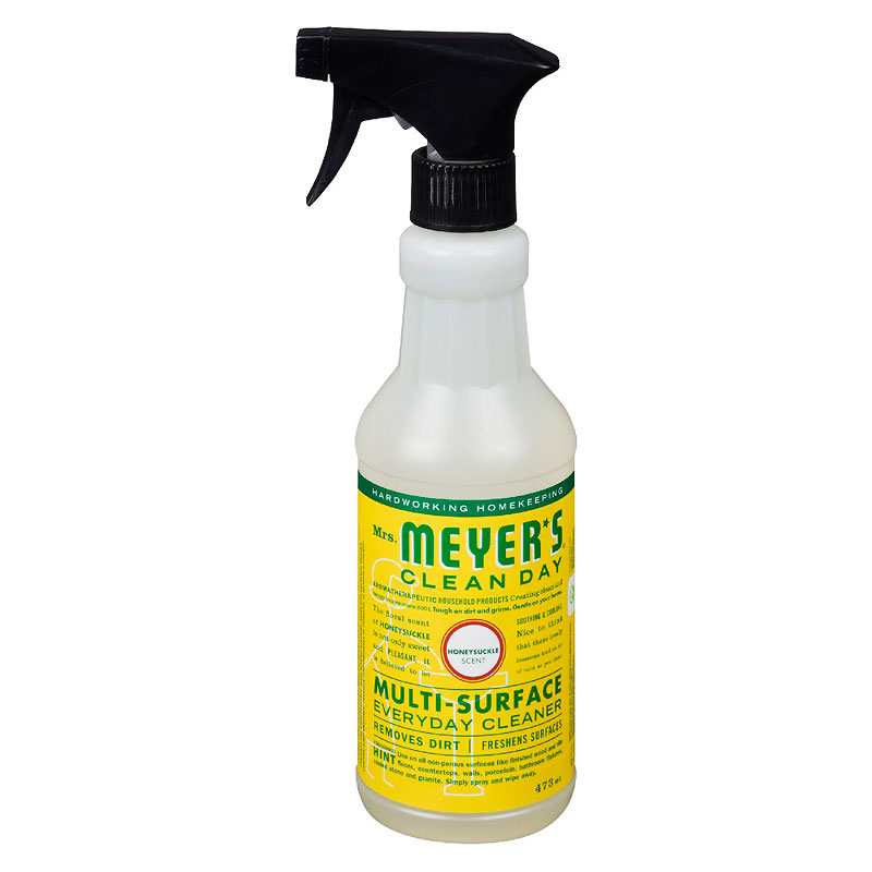 Mrs. Meyer's Multi-Surface Everyday Cleaner - Honeysuckle - 473ml