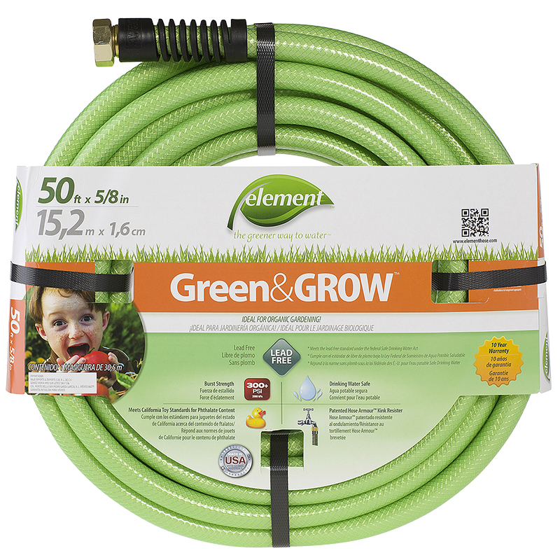 Colorite Green Grow Eco-Friendly Water Hose - 50ft