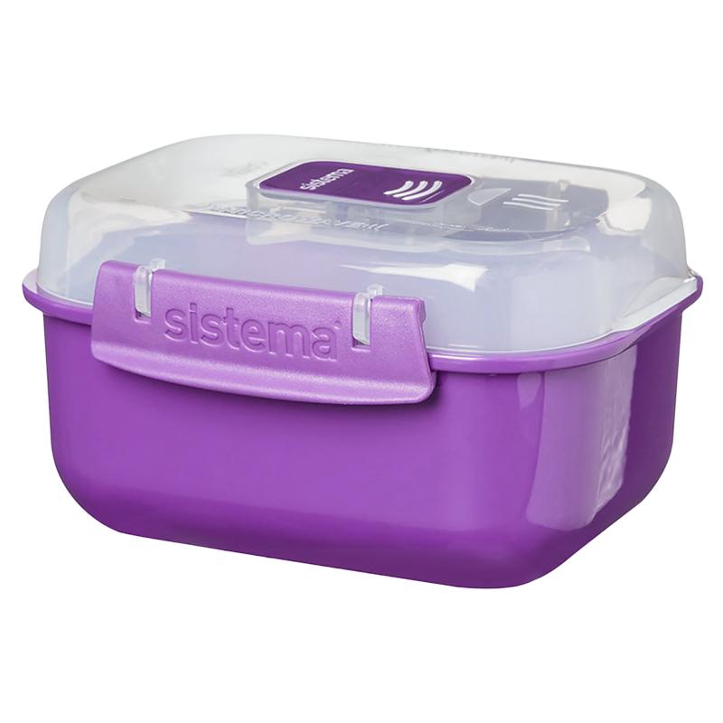 Sistema Microwave Rectangular Food Storage Container ...