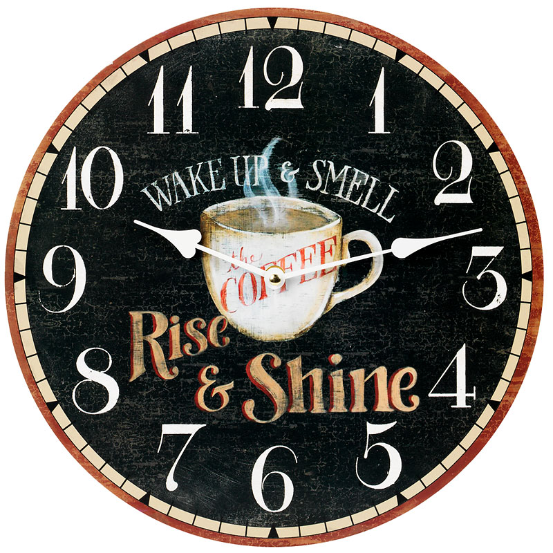 London Drugs Wall Clock - Rise & Shine