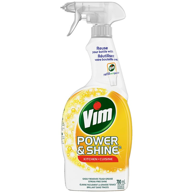 Vim Power & Shine Kitchen Spray - 700ml