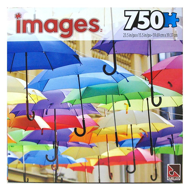 Images Puzzles - 750 piece - Assorted