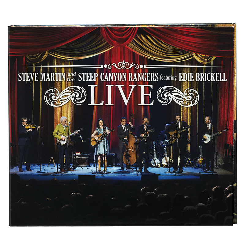 Steve Martin And The Steep Canyon Rangers Featuring Edie Brickell Live - CD + DVD
