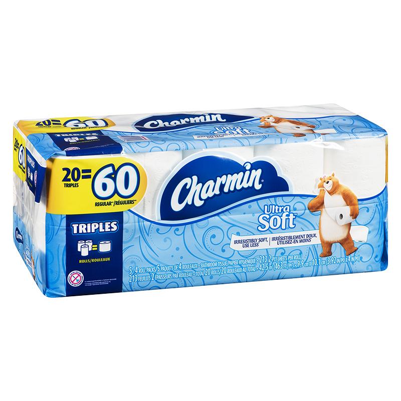 Charmin Ultra Soft Bathroom Tissue Triple Rolls 48's London Drugs Beauteous Bathroom Tissue