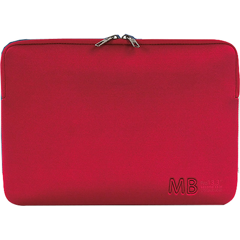 Tucano New Elements Form-Fitting Neoprene Sleeve for MacBook Pro 13inch - Red - BFEUS-MB13-R