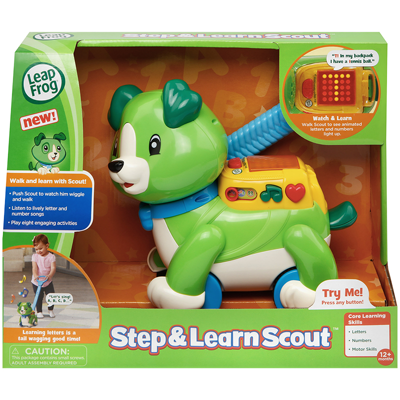 LeapFrog Step and Learn Scout - 80601201