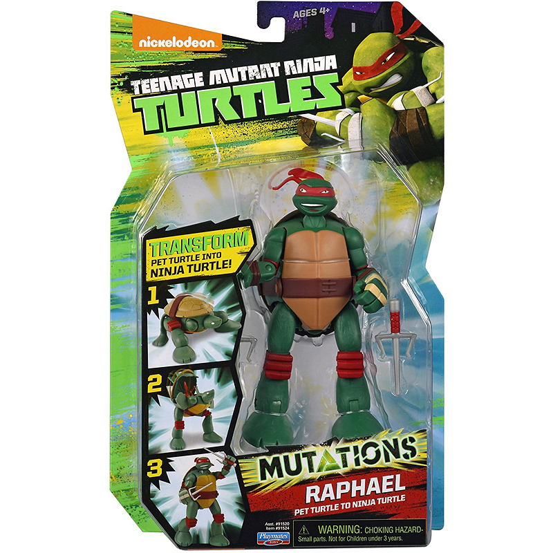 Teenage Mutant Ninja Turtle Mutation Deluxe - Turtle to Weapon - Assorted