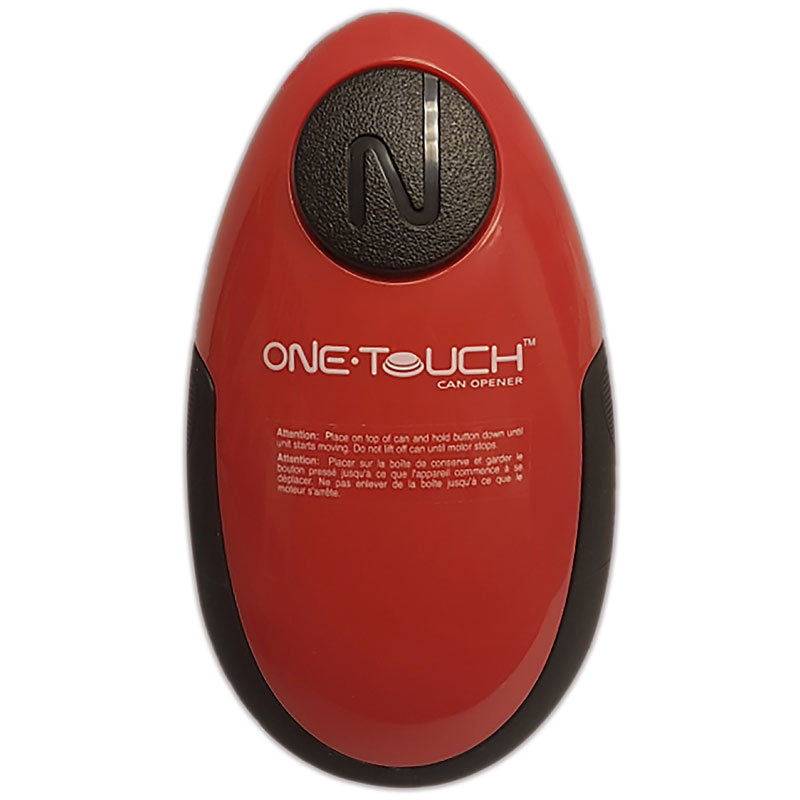 One Touch Compact Can Opener - Red/Black - KC26