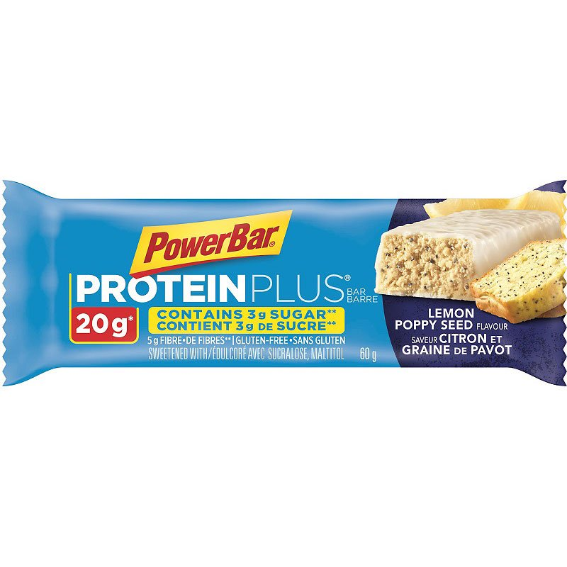 PowerBar Protein Plus Bar - Lemon Poppy Seed - 60g