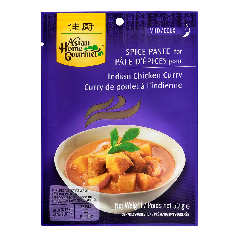Asian Home Gourmet Indian Chicken Curry Spice - 50g