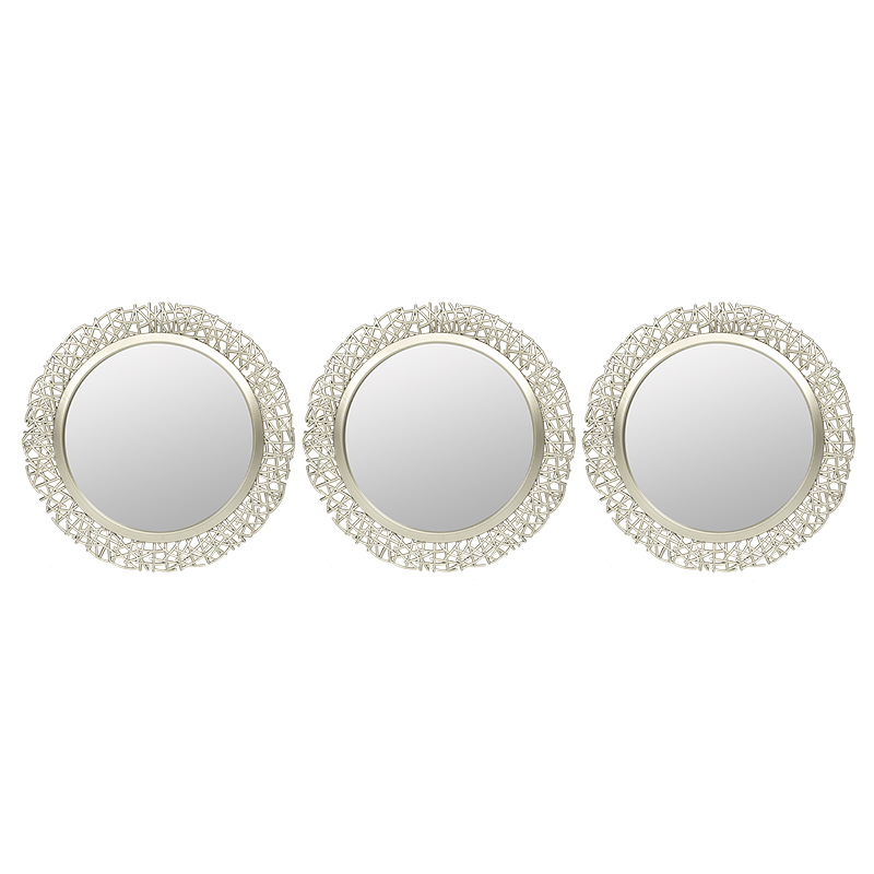 London Drugs Wall Mirrors - Circle Nest - Set of 3