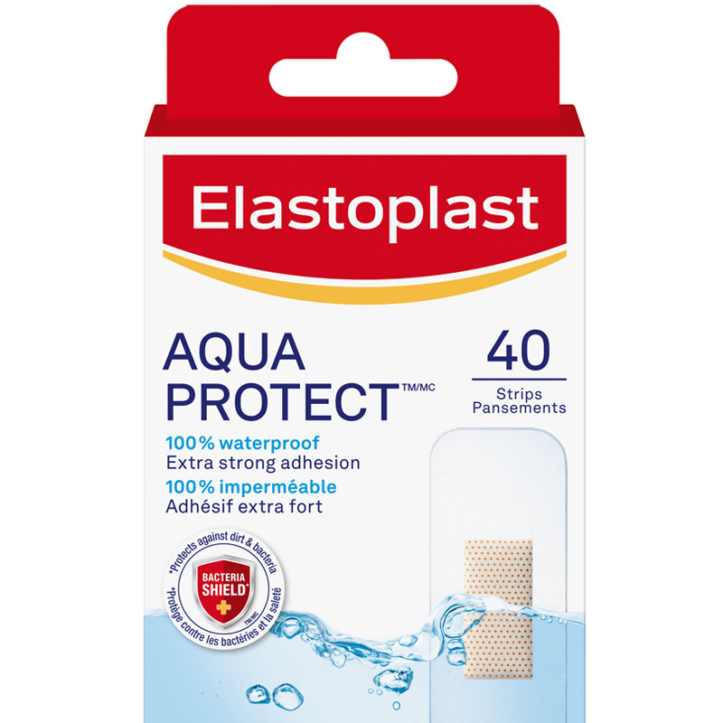 Elastoplast Waterproof Bandages - 40's