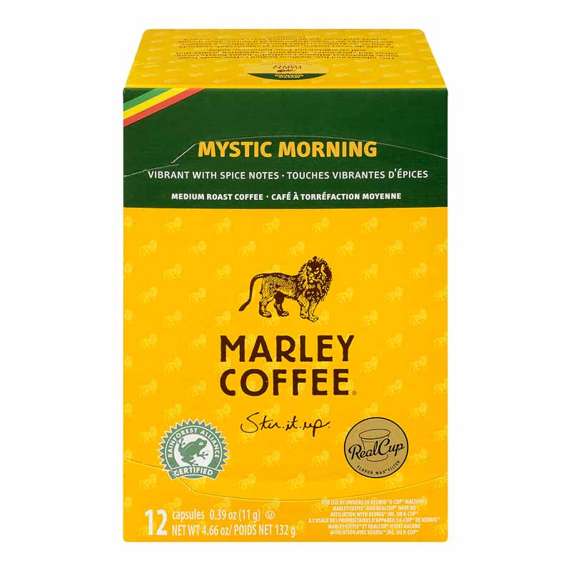 Marley's Single Serve Pods - Mystic Morning - 12's