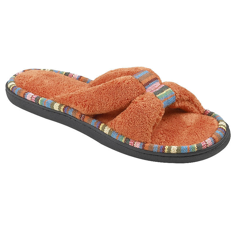 Isotoner Terry Slide-On Slipper - 91009