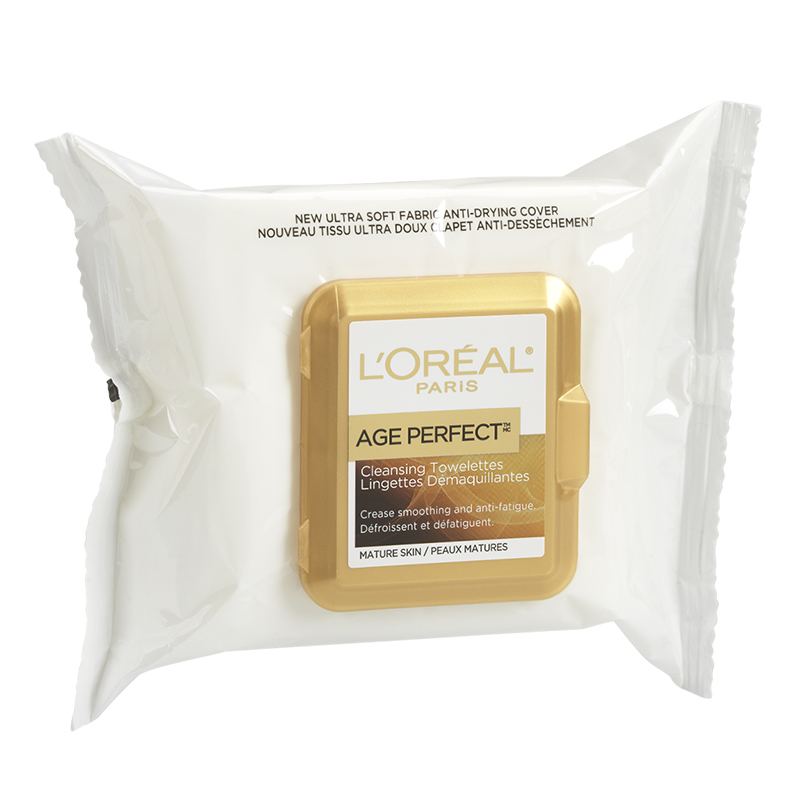 L'Oreal Dermo-Expertise Age Perfect Anti-Fatigue Cleansing Towelettes