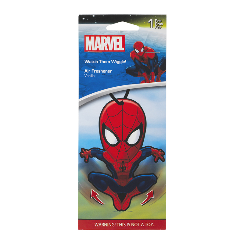DC Marvel Comics  Air Freshener - Spiderman