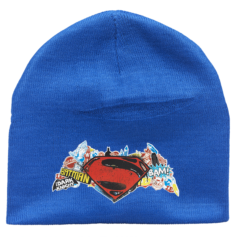 Dawn of Justice Toque - Blue - 7-10X