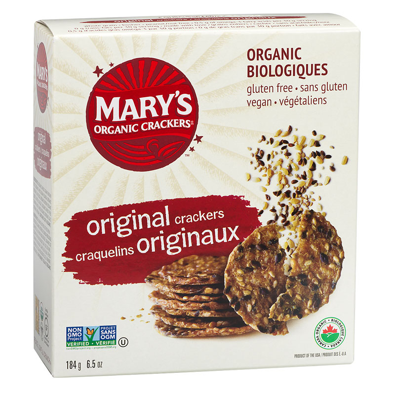 Mary's Organic Crackers - Original - 184g