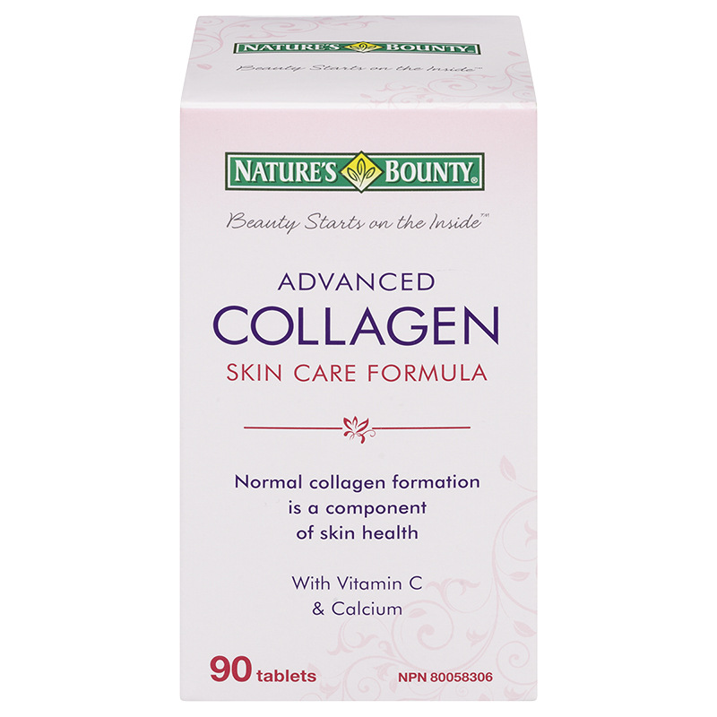 Nature's Bounty Advanced Collagen Skin Care Formula Tablets - 90's