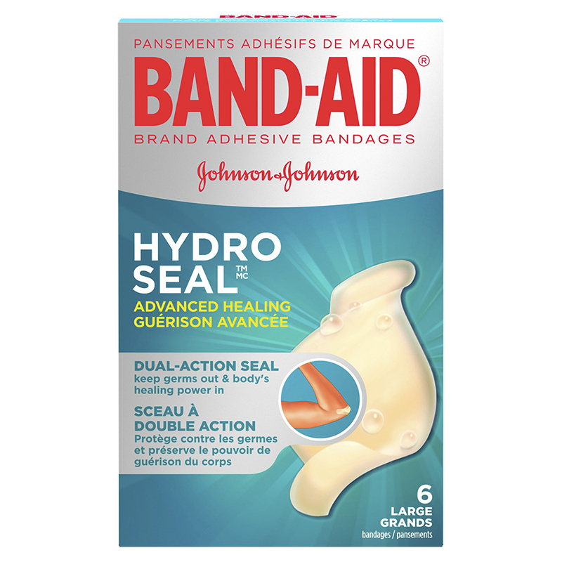Band-Aid Hydro Seal Advanced Healing Bandages - Large Size - 6's
